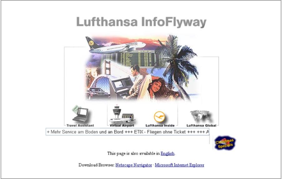 Lufthansa InfoFlyway